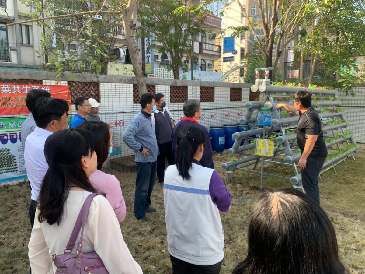 遠東科大USR團隊推廣蚓魚菜共生系統-大學社會責任實踐計畫USR